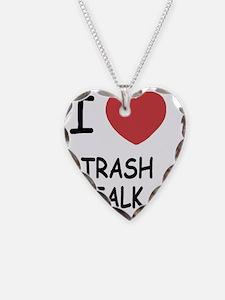 I heart Trash Talk Necklace
