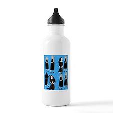 ff nuns 2 blue Water Bottle