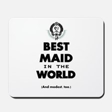 The Best in the World – Maid Mousepad