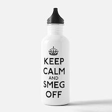 FIN-keep-calm-smeg-off Water Bottle