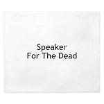 Speaker For The Dead King Duvet