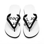 Speaker For The Dead Flip Flops