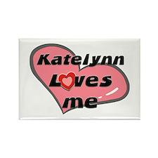 katelynn loves me Rectangle Magnet