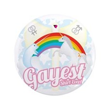 "Gayest Shirt Ever 3.5"" Button"