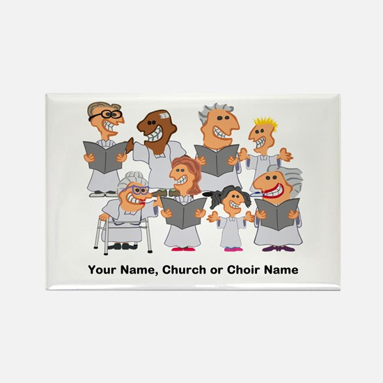 Funny Personalized Church Choir Magnets