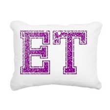 ET, Vintage Rectangular Canvas Pillow