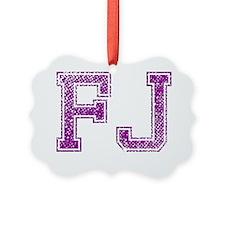 FJ, Vintage Ornament