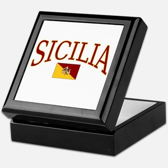 Sicilia Keepsake Box