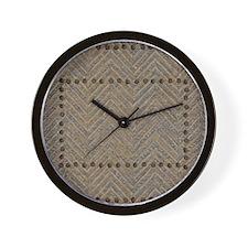 Metal Bolts Wall Clock