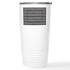 Metal Bolts Travel Mug