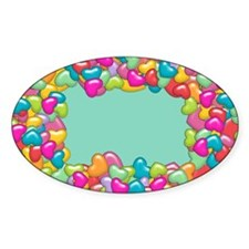 Puffy Hearts Decal