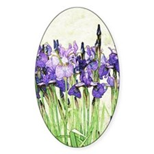 Irises Decal