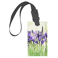 Irises Luggage Tag