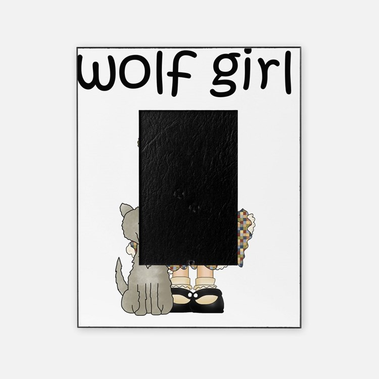 Wolf Girl Picture Frame