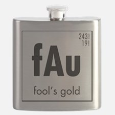 Fools Gold in Black Flask