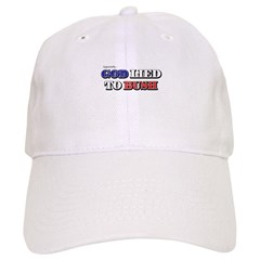 God Lied To Bush Baseball Cap
