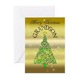 Grandson christmas Greeting Cards
