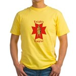 The Knights Templar Yellow T-Shirt