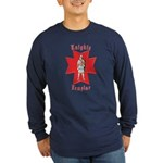 The Knights Templar Long Sleeve Dark T-Shirt