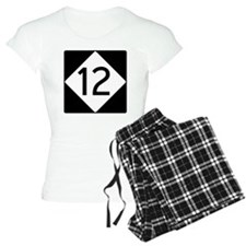 Route 12 Road Sign Pajamas