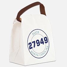 Duck, North Carolina Zip Code Canvas Lunch Bag