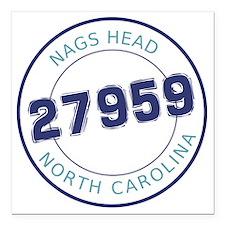"Nags Head, North Carolin Square Car Magnet 3"" x 3"""