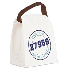 Nags Head, North Carolina Zip Cod Canvas Lunch Bag