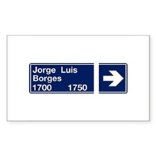 Calle Jorge Luis Borges, Buenos Aires (AR) Decal