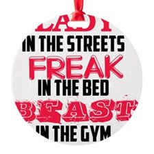 lady-in-the-street-beast Ornament