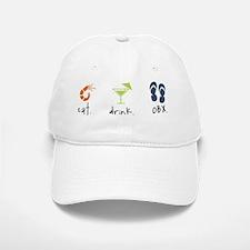 Eat. Drink. OBX. Baseball Baseball Cap