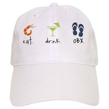 Eat. Drink. OBX. Baseball Cap