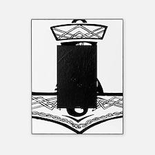 Black Celtic Thors Hammer Picture Frame