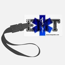 EMT Star of Life Luggage Tag