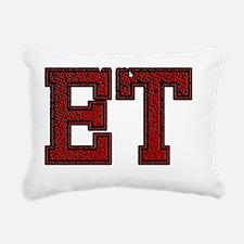 ET, Vintage Rectangular Canvas Pillow