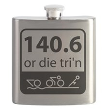 Ironman Or Die Flask