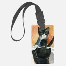 Kitten in the Mirror Luggage Tag