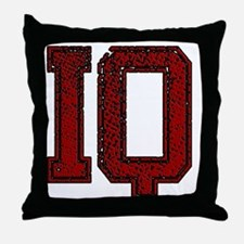 IQ, Vintage Throw Pillow