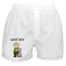 Wolf Boy Boxer Shorts