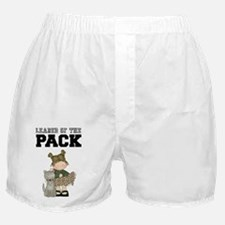 Girl Leader of the Pack Boxer Shorts