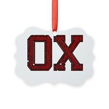OX, Vintage Ornament