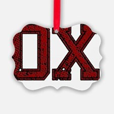 OX, Vintage Ornament