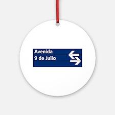 Avenida 9 de Julio, Buenos Aires (AR) Ornament (R