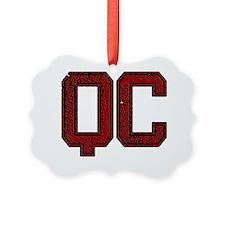 QC, Vintage Ornament