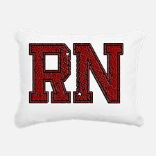 RN, Vintage Rectangular Canvas Pillow
