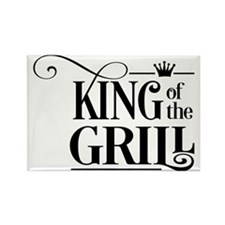 grill Rectangle Magnet