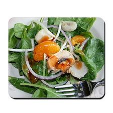 Spinach Salad Photo Mousepad