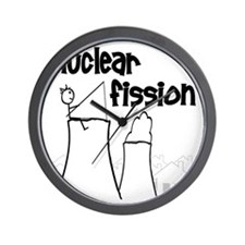 funny nuclear fission Wall Clock