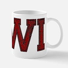 WI, Vintage Mug