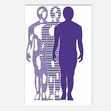 Vitiligo Foundation Logo Postcards (Package of 8)