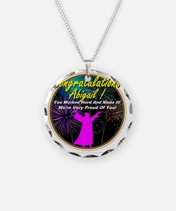 GradGirlsAbigail0001 Necklace Circle Charm
